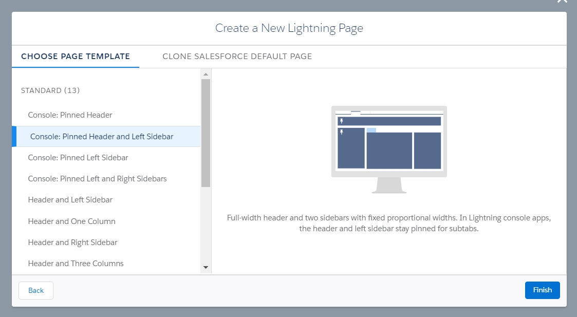 Change lightning page layout after creating a page