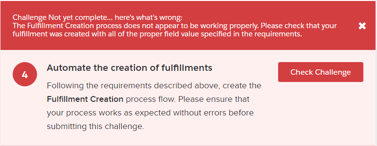 LeX Superbadge Challenge 4 error